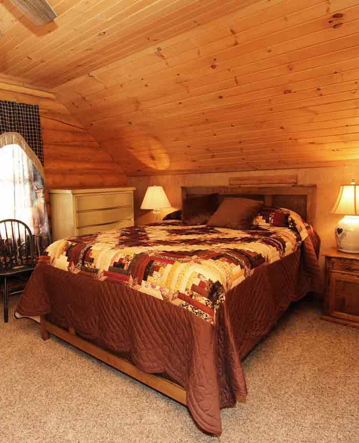 Log Home Suite at Iron Stone Acres Bed & Breakfast Lancaster PA